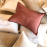 Personalised cushion - CLAY