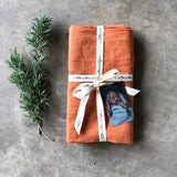 Custom Heirloom Baby Wrap - PUMPKIN
