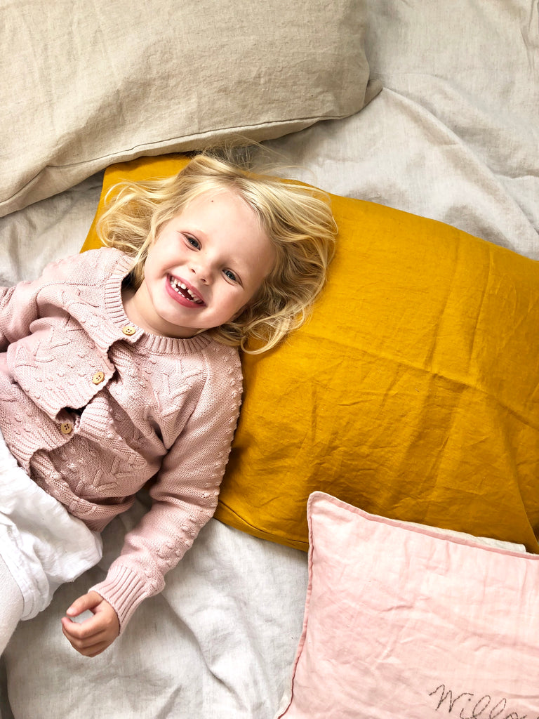 Pure Linen Pillowcase - 10 colours