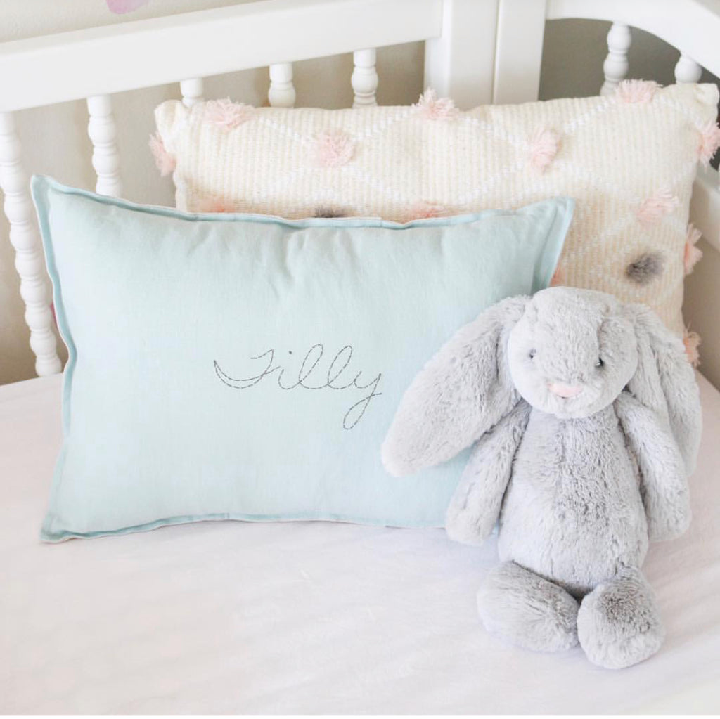 Personalised Cushion-SOFT SKY