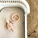 RAW Beech wood - teether/rattle