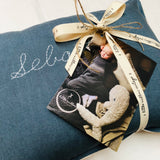 Personalised Cushion -FRENCH BLUE