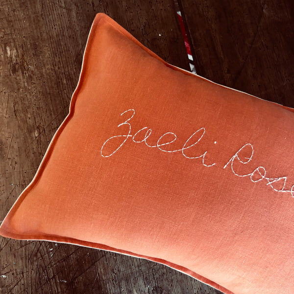 Personalised cushion - PUMPKIN