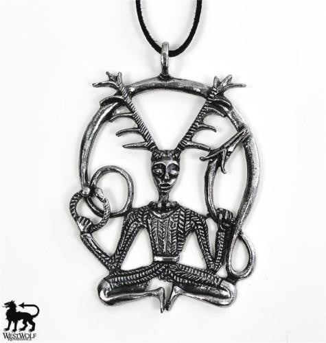 Celtic Cernunn the Forest God Pendant/Amulet