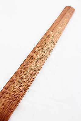 Solid Red Oak Japanese Suburito Practice Sword