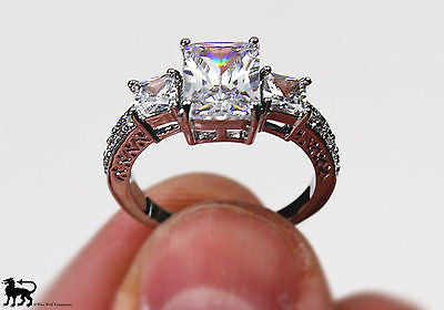 Royal Silver Ring of Queen Elizabeth - Size 7