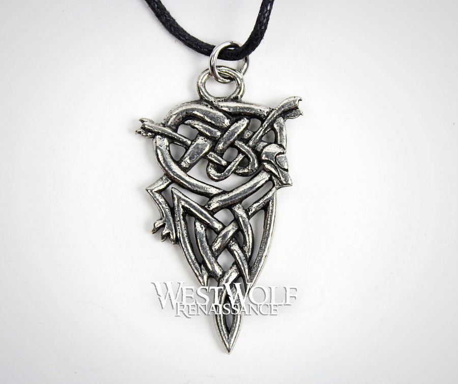 Viking / Celtic Dog Knot Pendant