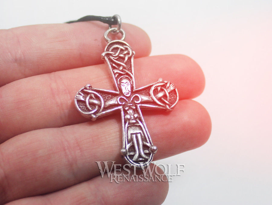 Viking Novgorod Cross Pendant - Russian Crucifix