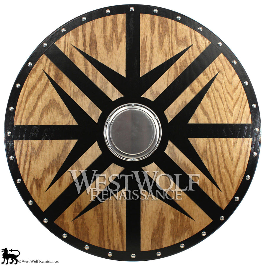Viking Black Arrow Berserker Shield