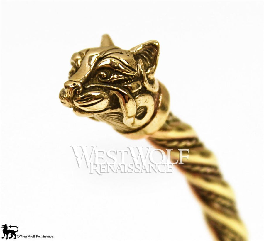 Viking or Celtic Cat Bracelet