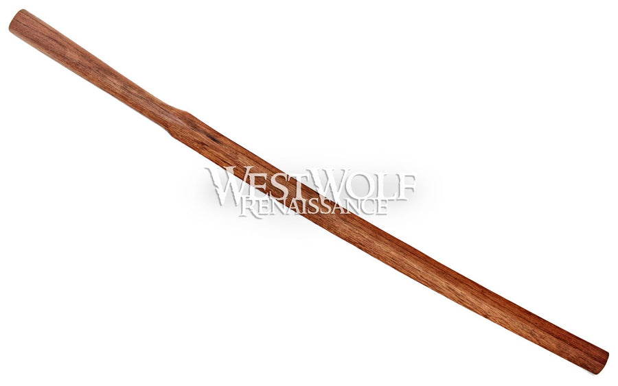 Japanese Suburito Practice Sword - Large 45 Inch Handmade Heavy Red Oak Wood Training Katana/Bokken