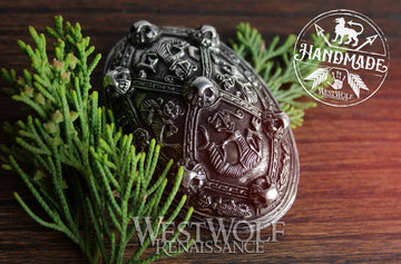 Viking Tortoise Brooch with