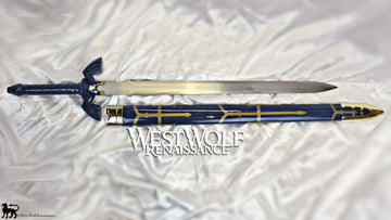 Legend of Zelda - Link's Steel Hylian Knight MASTER SWORD with Scabbard