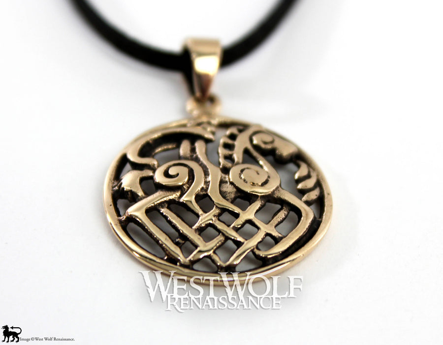 Viking Odin on Sleipnir Pendant