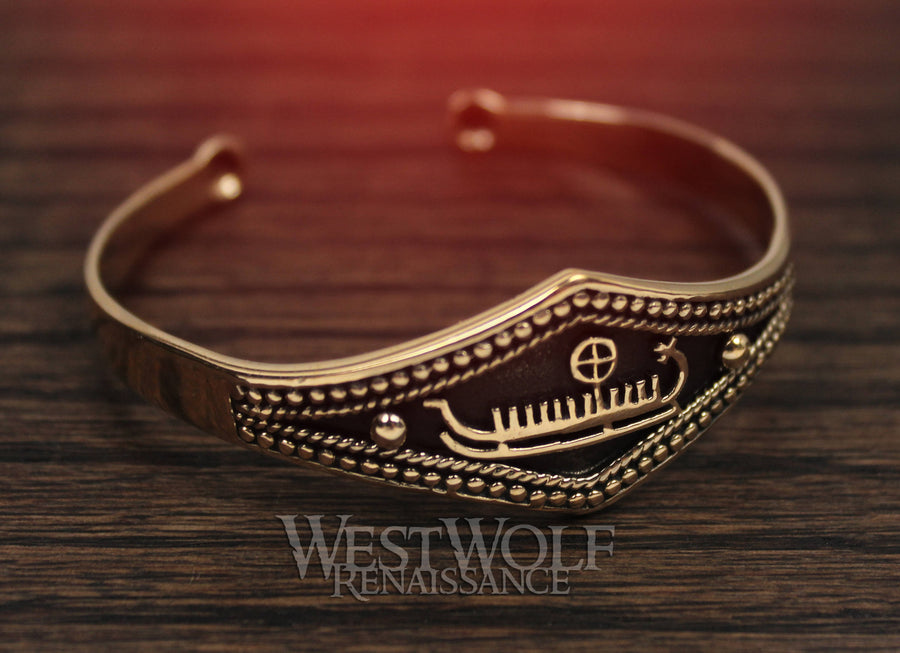 Viking Longship Bracelet for an Ocean Raider