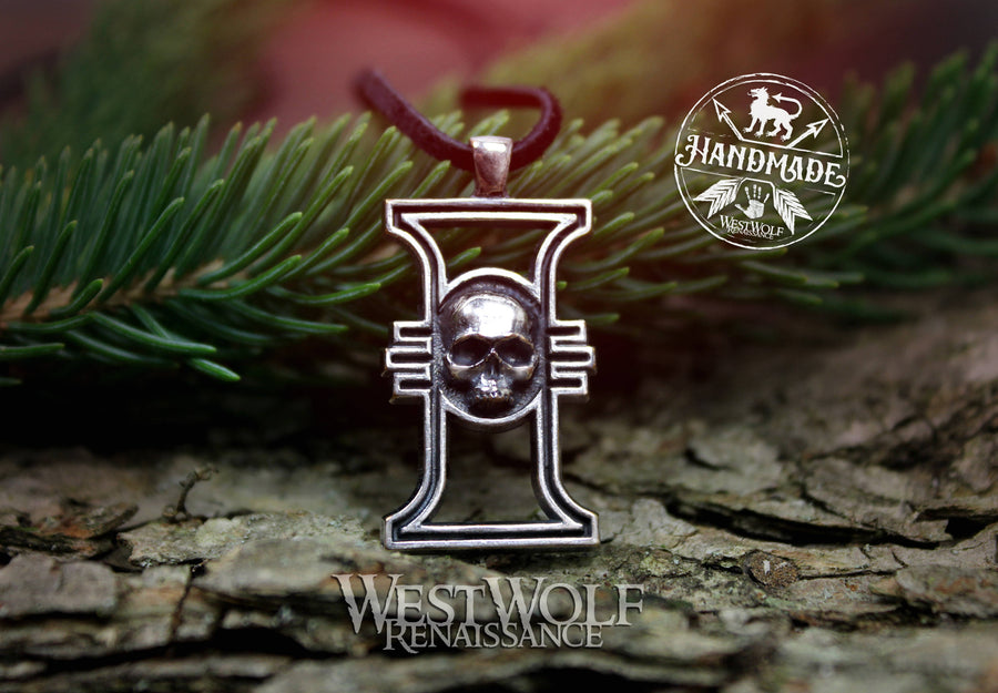 Warhammer 40k Imperial Inquisition Pendant - Ordo Hereticus - Made of Sterling Silver