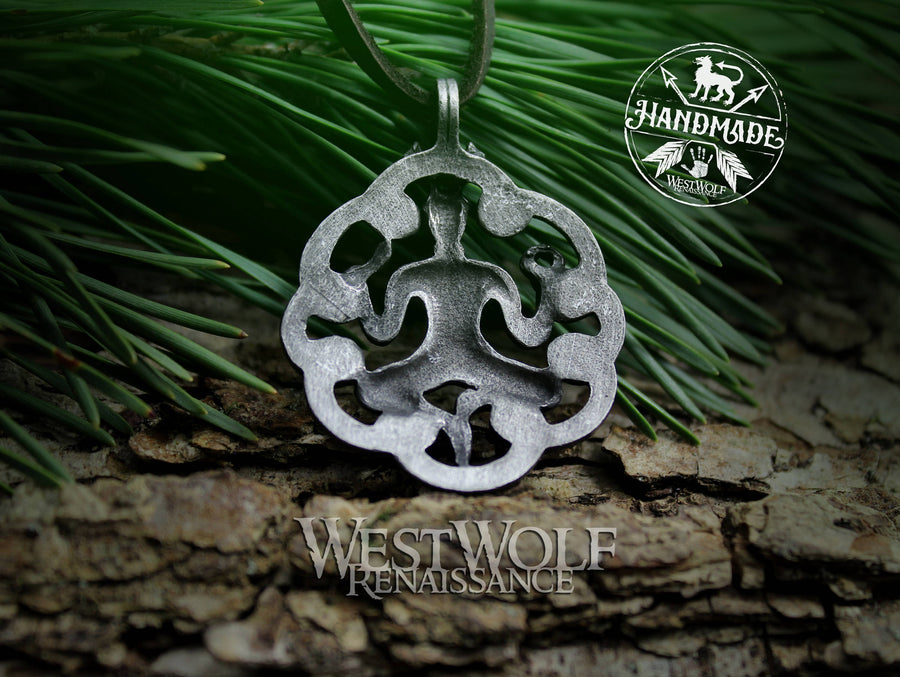 Celtic Cernunnos/Cernunn the Forest God Pendant / Amulet