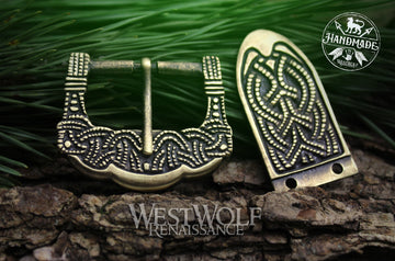 Viking Belt Buckle Set