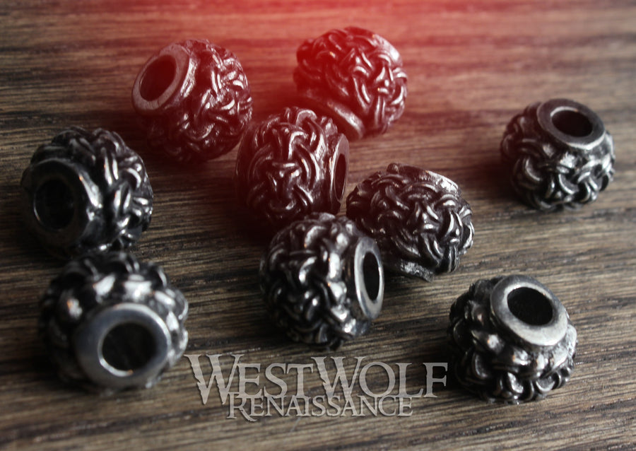 Silver Viking Jewelry / Beard Beads