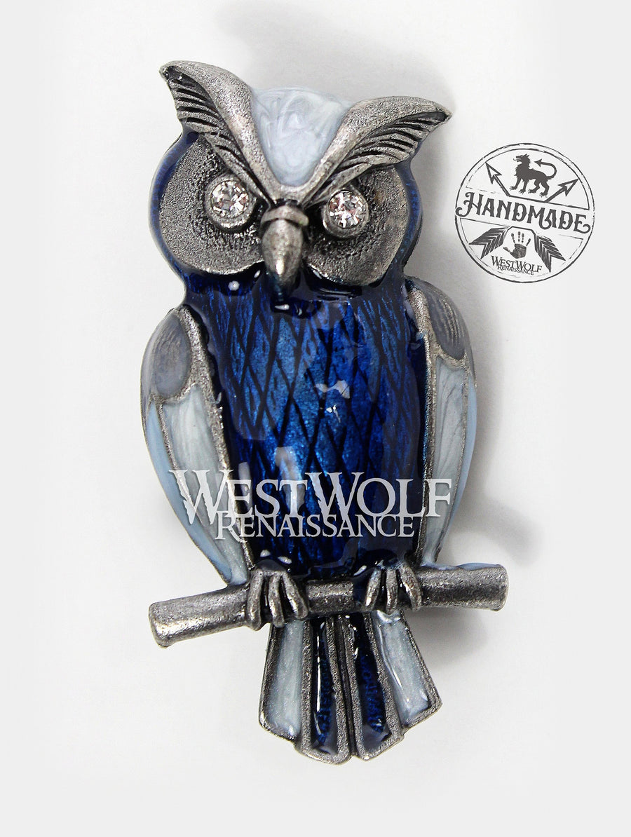 Owl Brooch / Pin - Bubo from Clash of the Titans