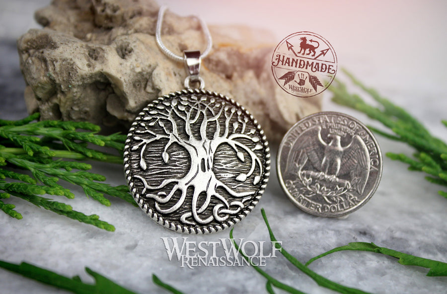 Tree of Life Pendant - Yggdrasil the World Tree