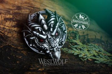 Dragon Head Belt Buckle for 1.5 inch Wide Belts