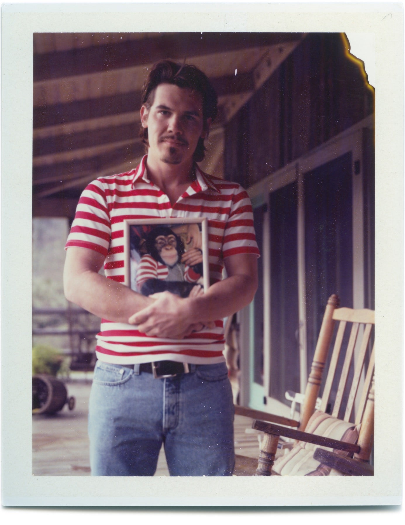 Josh Brolin - Original Polaroid by Dewey Nicks