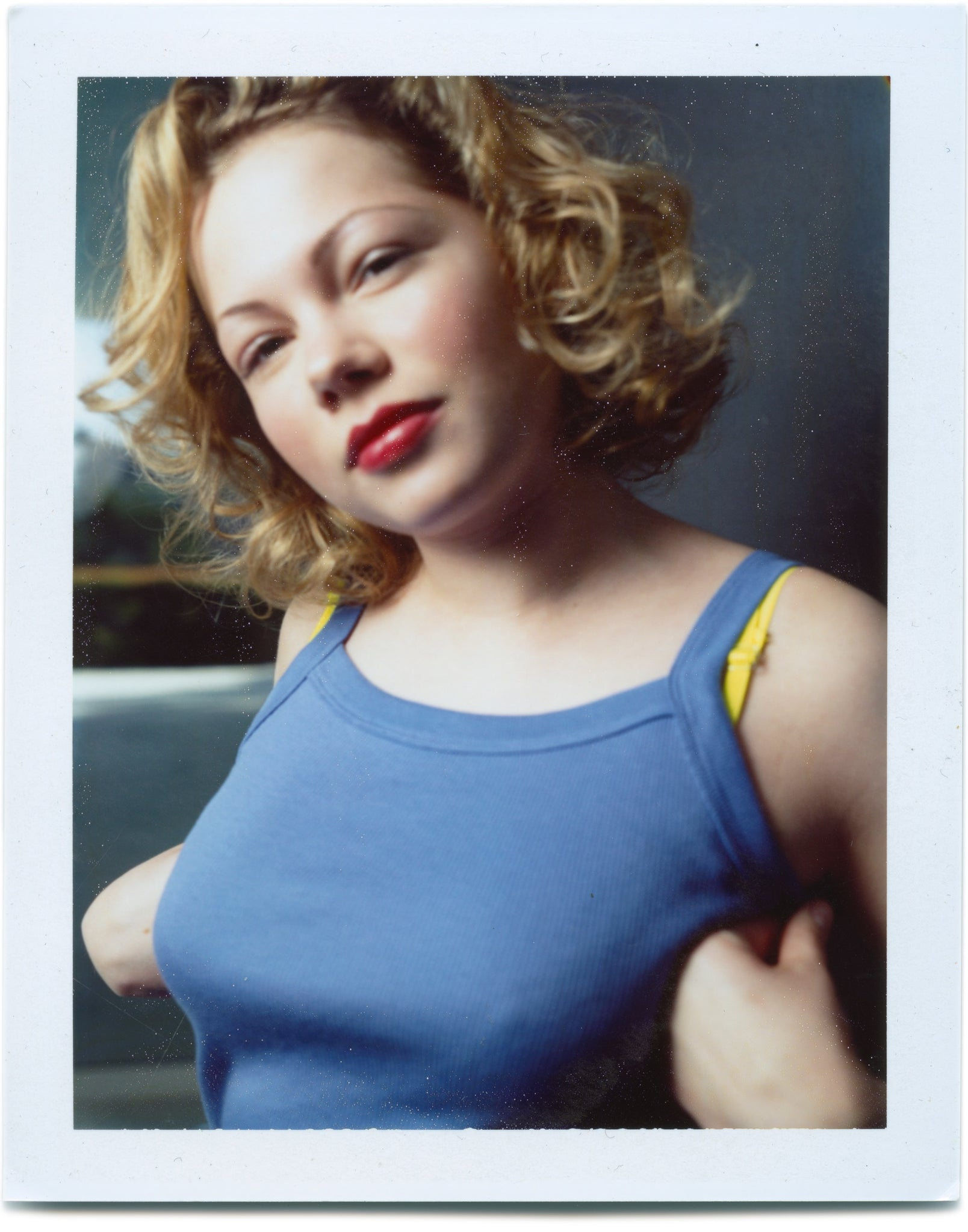 Michell Williams - Original Polaroid by Dewey Nicks