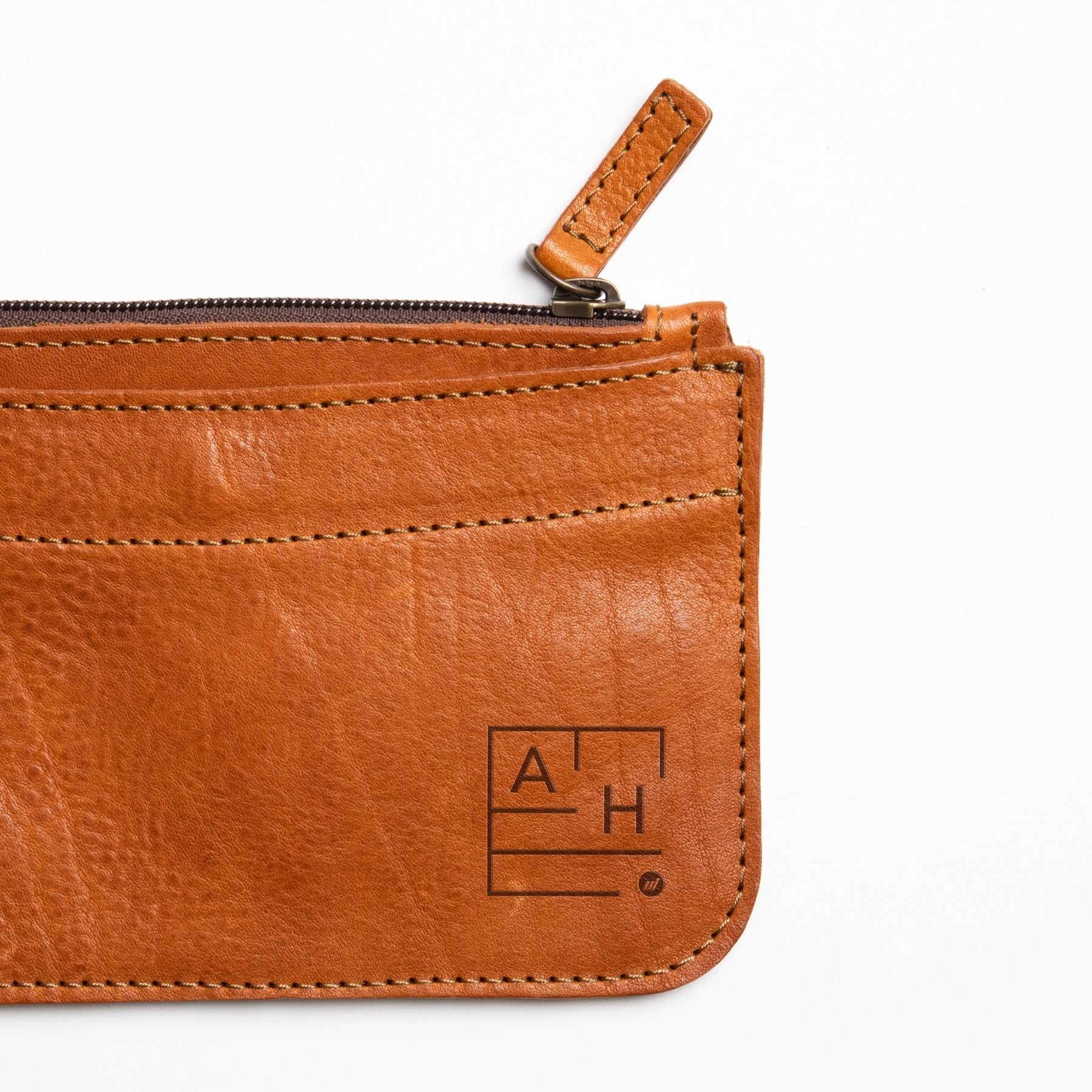 Leather Envelope - Autotype Monograms