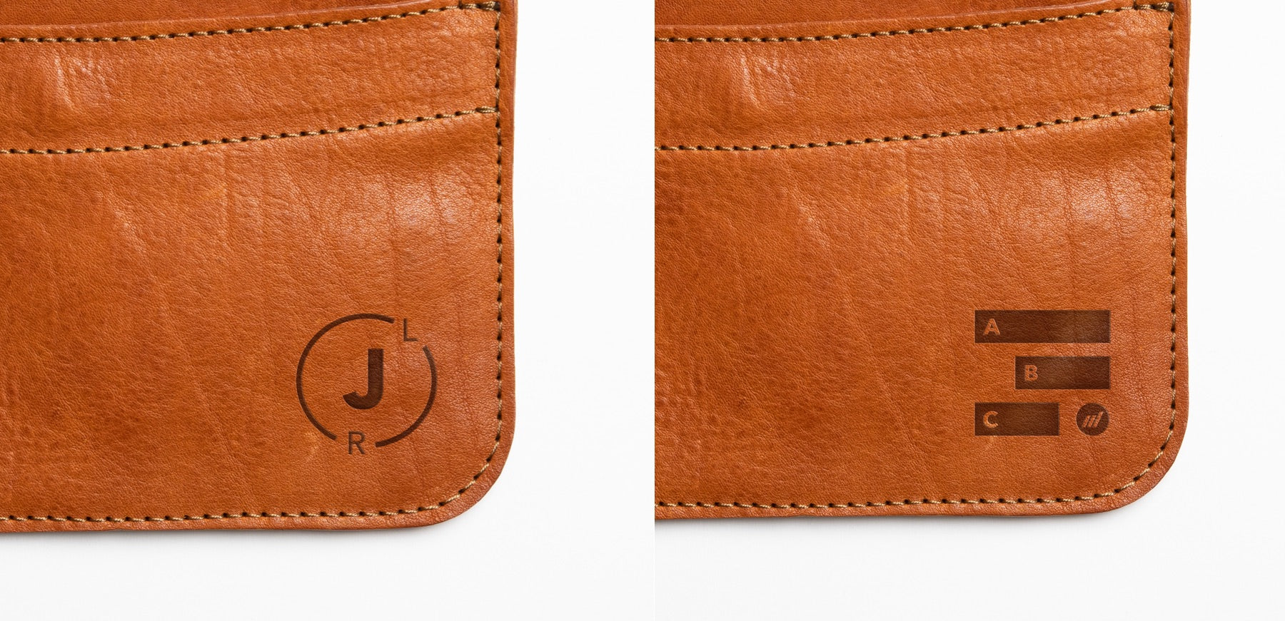 Leather Envelope -Autotype Monograms