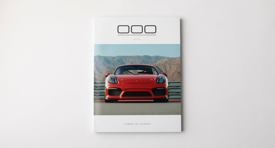 Porsche Magazine Spread - Triple Zero 000 - Issue 2 - Autotype Library