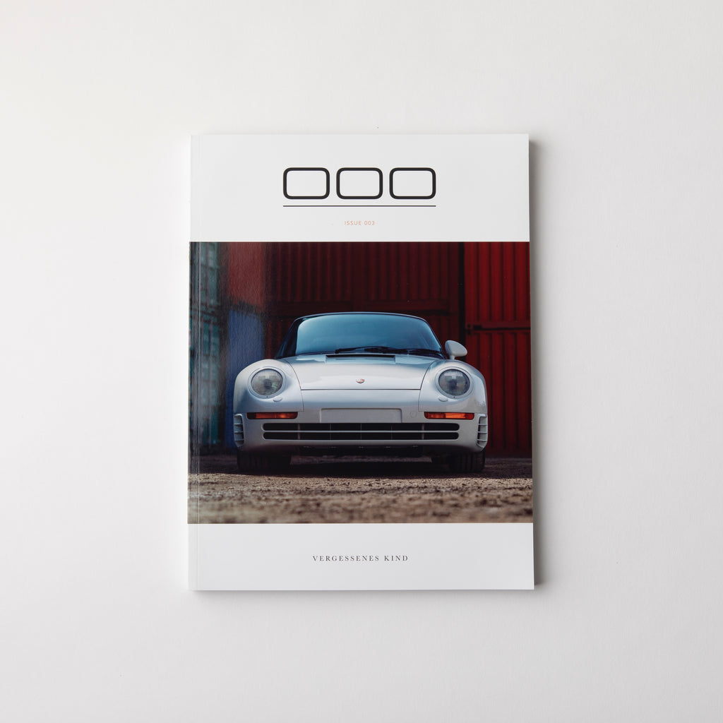 Porsche Magazine - Triple Zero 000 - Issue 3- Autotype Library