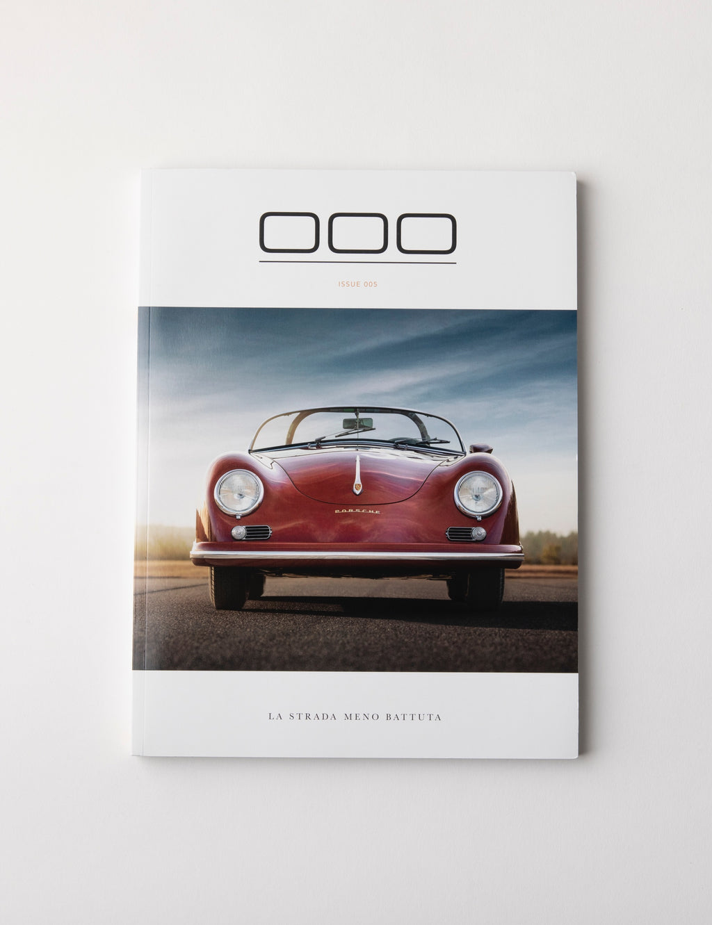 Porsche Magazine Spread - Triple Zero 000 - Issue 5 - Autotype Library