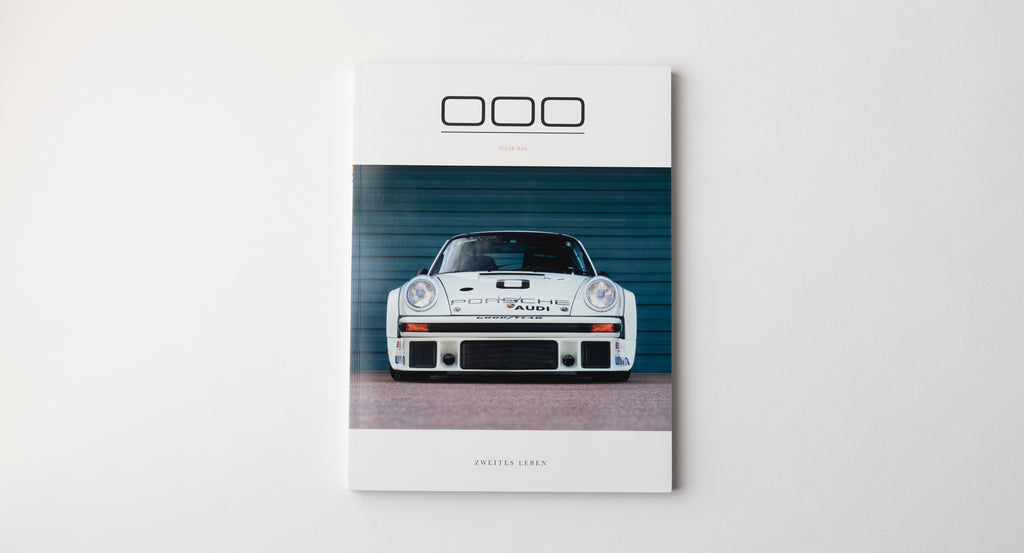 Porsche Magazine Spread - Triple Zero 000 - Issue 6 - Autotype Library