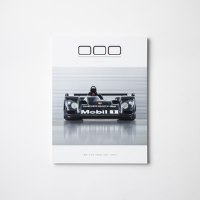 triple zero 000 issue 7 Porsche magazine cover