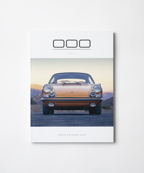 Porsche Magazine Cover - Triple Zero 000 - Issue 8 - Autotype Library