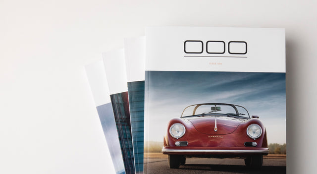 Porsche Magazine Covers - Triple Zero 000 - Subscription - Autotype Library
