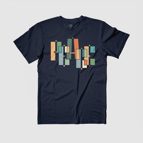 "PEACE ""Blocks"" Tee by Alyasha"