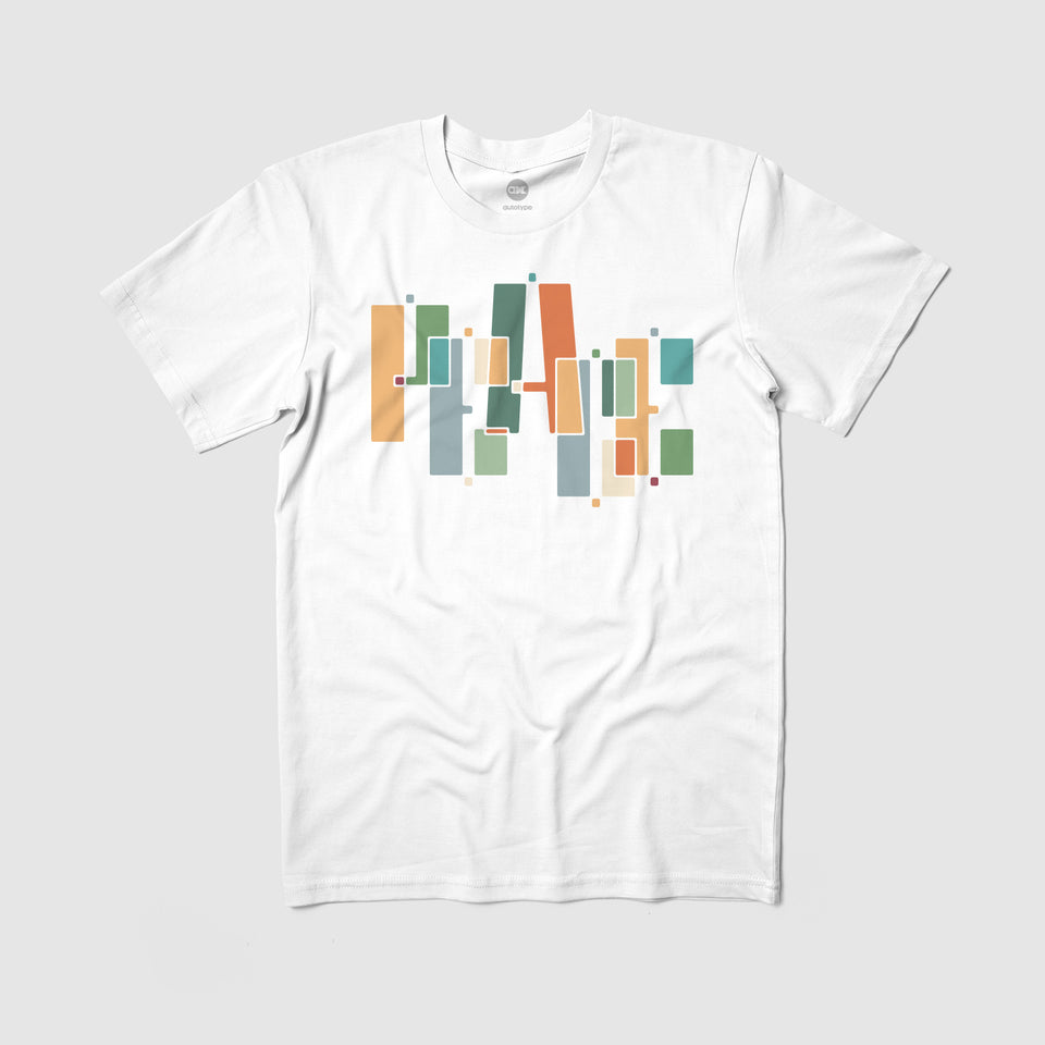 "PEACE ""Blocks"" Tee"