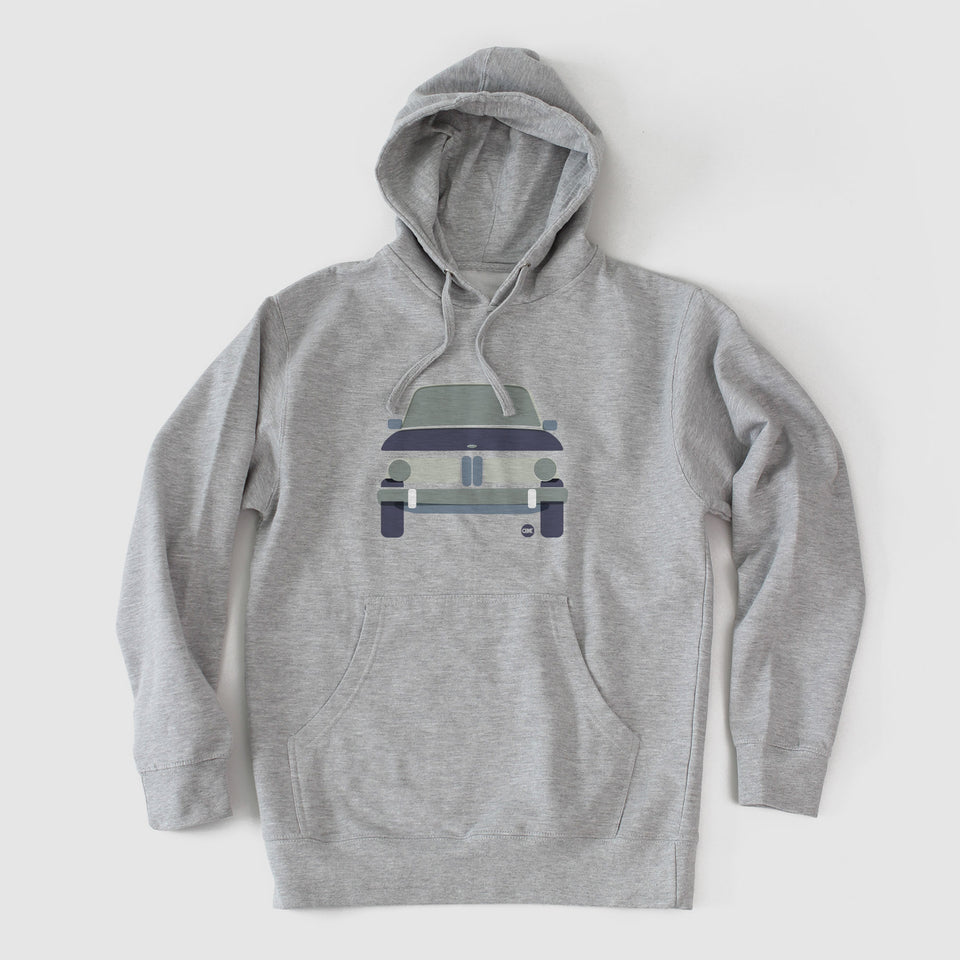 Factory Color Block 2002 Hooded Fleece