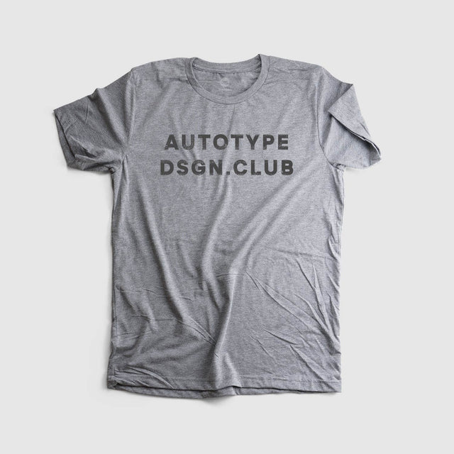 Autotype Design Club Tee