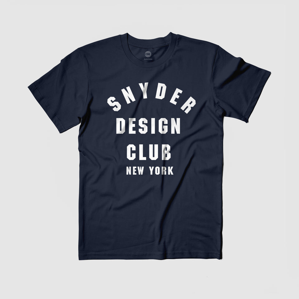 Snyder Design Club Tee