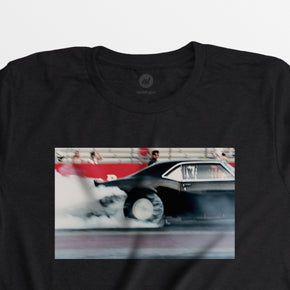 Men's Autotype + Dewey Nicks Camaro Burnout Tee - Black
