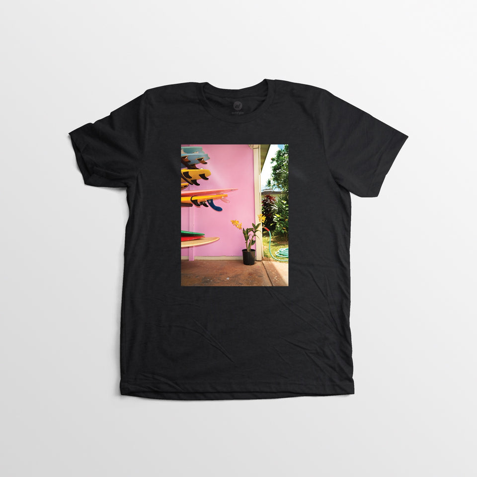 Dewey Nicks Stacked Surfboards Tee