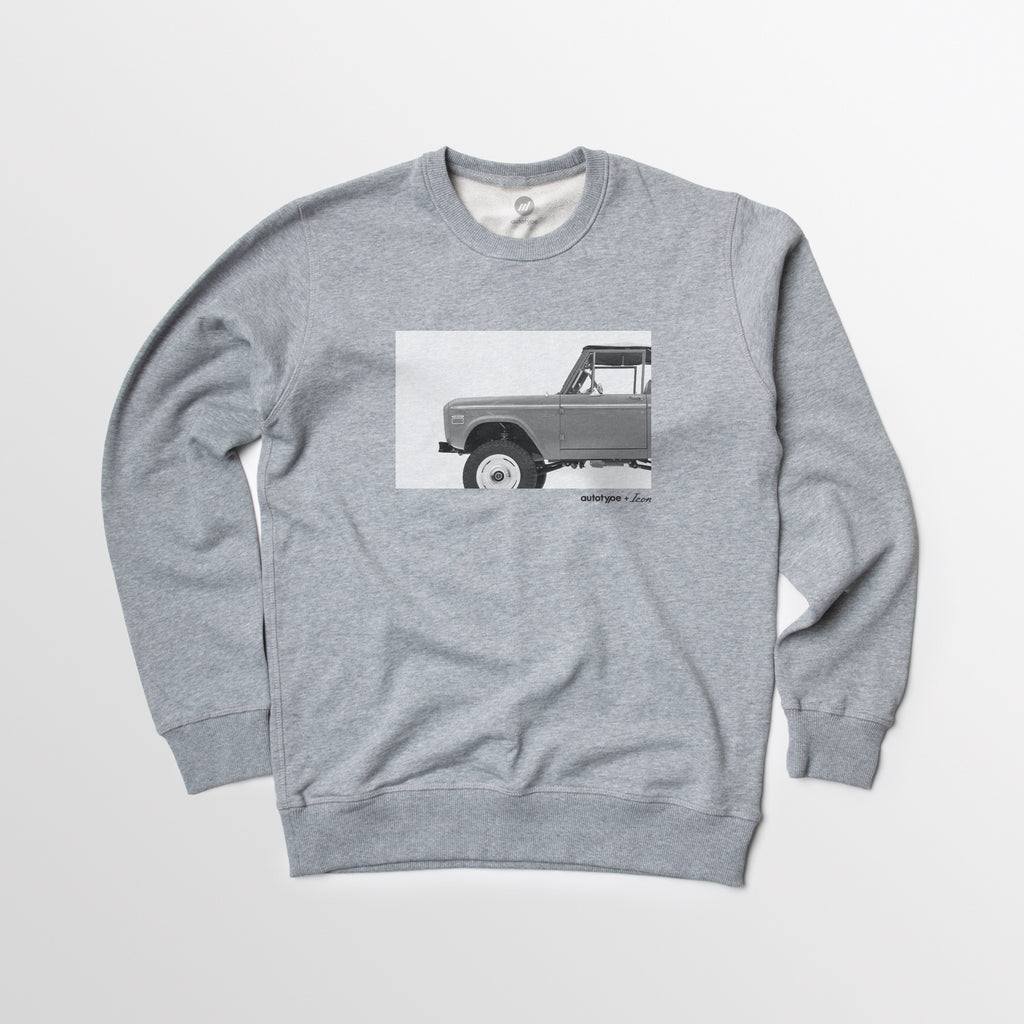 Old School BR Crewneck Fleece