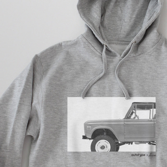 Men's Autotype + ICON Hooded Fleece - Athletic Heather Grey