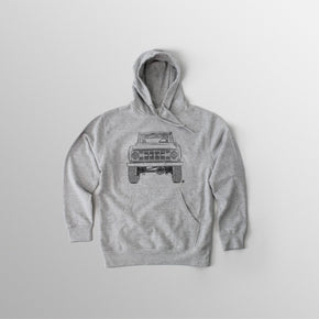 Men's BR Hooded Fleece - Athletic Heather Grey
