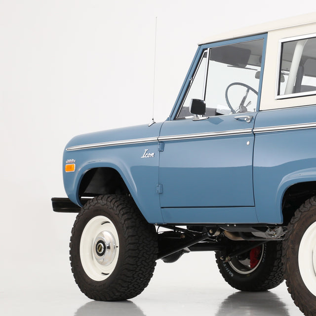 Blue Icon Bronco - Autotype