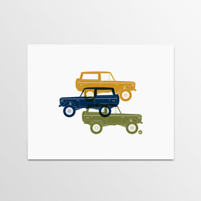 Bronco Print by Autotype