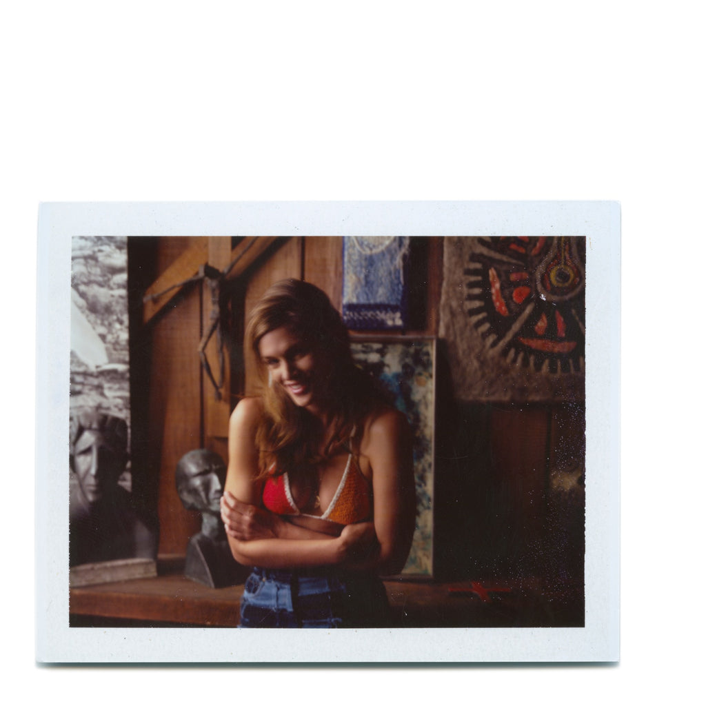 Cindy Crawford - Original Polaroid by Dewey Nicks